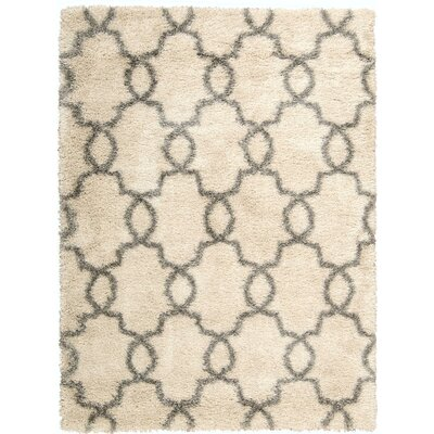 Torvehallerne White Shades Area Rug Rug Size: Rectangle 53 x 73