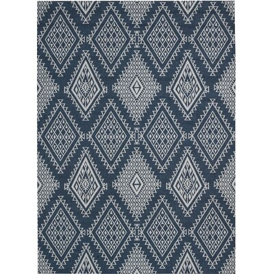 Tsukiji Blue Area Rug Rug Size: Rectangle 5 x 7