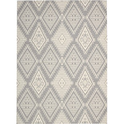 Tsukiji Gray Area Rug Rug Size: Rectangle 4 x 6