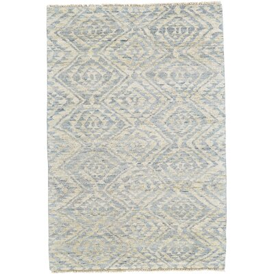 Dionte Hand Woven Wool Mist Area Rug Rug Size: Rectangle 4 x 6