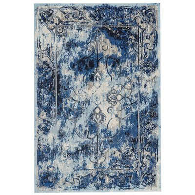 Johnsie Thundercloud Area Rug Rug Size: Rectangle 102 x 139