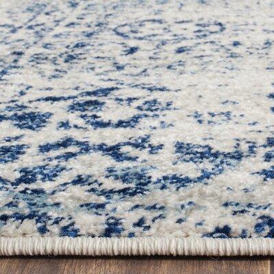 Ameesha Blue Area Rug Rug Size: 10 x 14