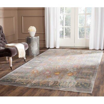 Ziraoui Grey/Multi Area Rug Rug Size: 11 x 15