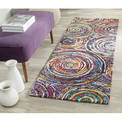 Anaheim Hand-Tufted Area Rug Rug Size: Runner 23 x 12