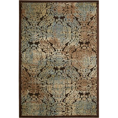 Vucciria Chocolate Area Rug Rug Size: Rectangle 111 x 33