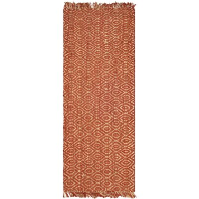 Bosphorus Rust Area Rug Rug Size: Rectangle 26 x 4
