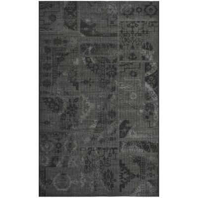 Chipping Ongar Black / Grey Area Rug Rug Size: Rectangle 8 x 11