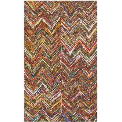Sergio Hand-Tufted Multi Area Rug Rug Size: Rectangle 2 x 3