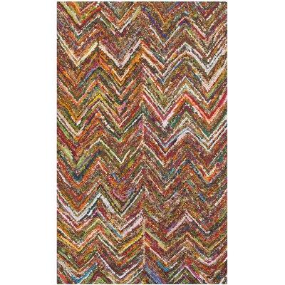 Sergio Hand-Tufted Multi Area Rug Rug Size: Rectangle 23 x 4
