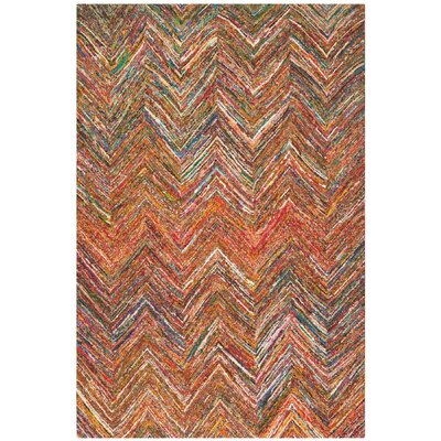 Sergio Hand-Tufted Multi Area Rug Rug Size: Rectangle 4 x 6