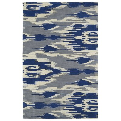 Hocca Hand-Tufted Blue Area Rug Rug Size: 5 x 8
