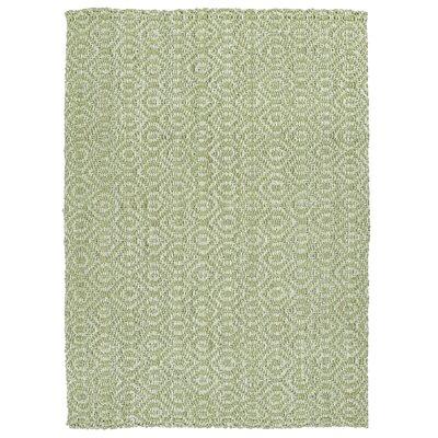 Targa Hand-Loomed Wasabi Area Rug Rug Size: 18 x 26