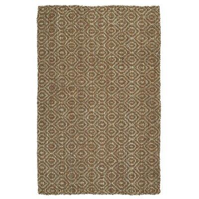 Targa Hand-Loomed Terracotta Area Rug Rug Size: 8 x 10