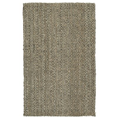 Targa Hand-Loomed Light Brown Area Rug Rug Size: 18 x 26