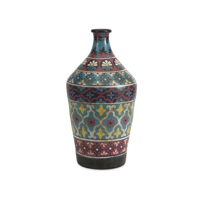 Trey Small Hand Painted Vase