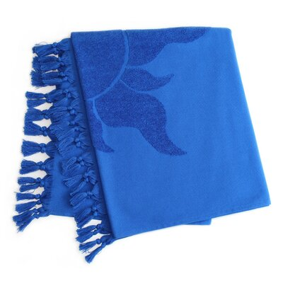 Mellal Pestemal Beach Towel Color: Royal Blue