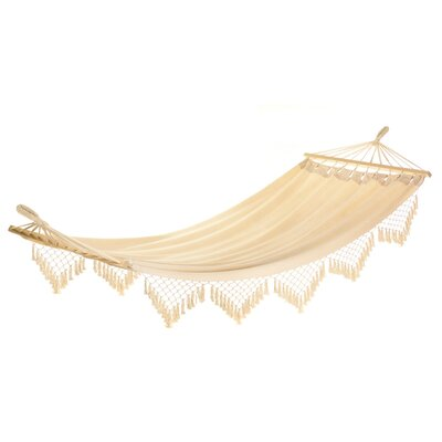Edyth Fringed Cotton Tree Hammock