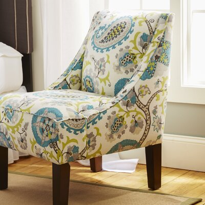 Heady Swoop Ladbroke Upholstered Arm Chair