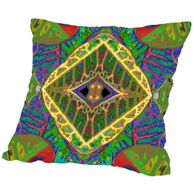 Rose Anne Colavito 2 Throw Pillow Size: 16 H x 16 W x 2 D
