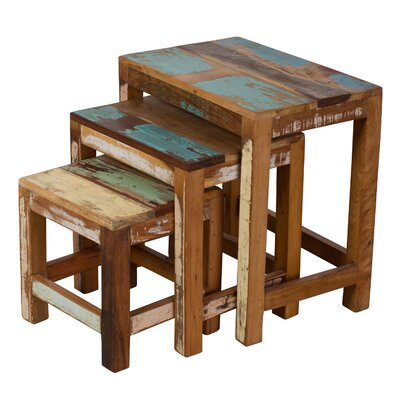 Saraghna 3 Piece Nesting Table Set