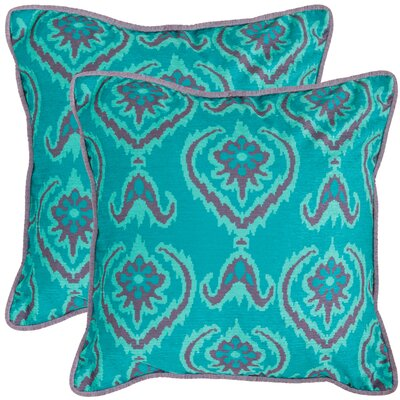 Erachidia Throw Pillow Size: 18