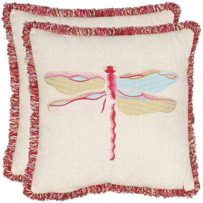 Taounate Dragonfly Throw Pillow