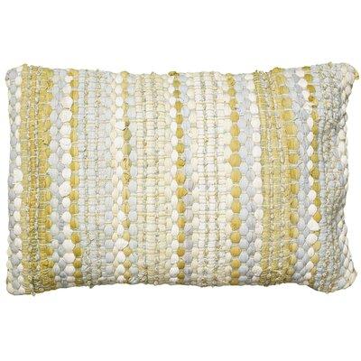 Stanley Cotton Lumbar Pillow Color: Yellow / Gray