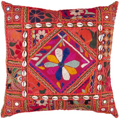 Fes Throw Pillow Size: 18, Filler: Down