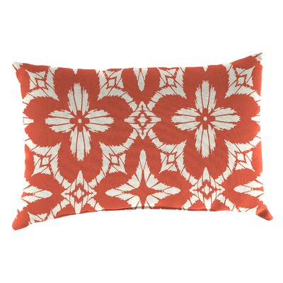 Mamora Outdoor Lumbar Pillow Color: Aspidoras Coral