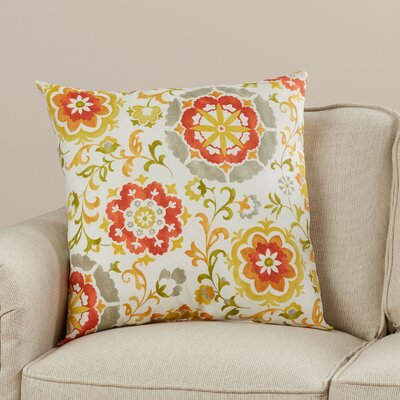 Yate Indoor/Outdoor Throw Pillow Color: Amber