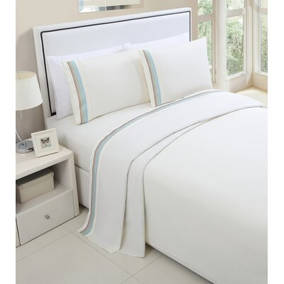Daouha Sheet Set Color: Ivory, Size: Full
