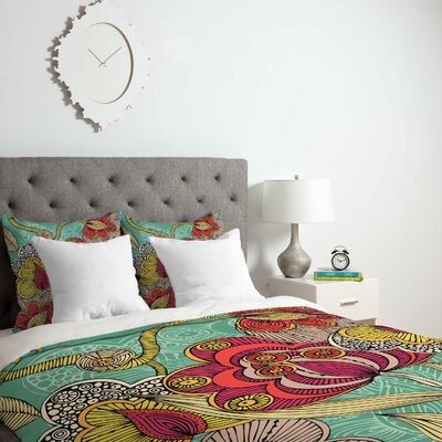 Deepak Beatriz Duvet Cover Size: King, Fabric: Lightweight