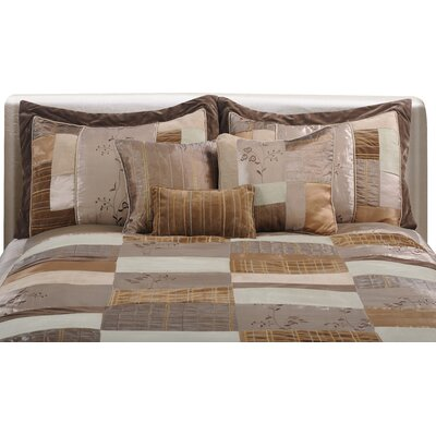 Tahar Complete Comforter Set Size: King, Color: Natural