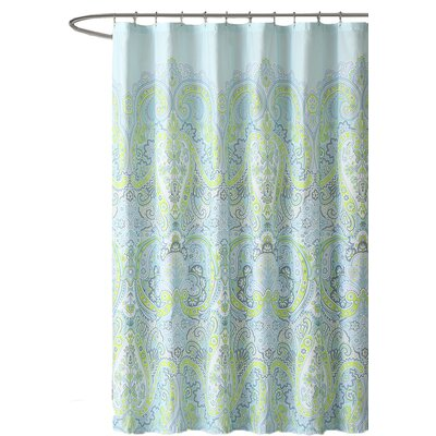 Labhira Microfiber Shower Curtain