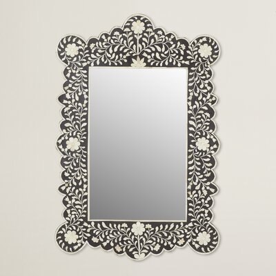 Ouitchambo Bone Inlay Wall Mirror