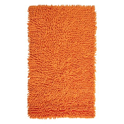 Rhalem Bath Rug Color: Orange