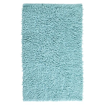 Rhalem Bath Rug Color: Aqua