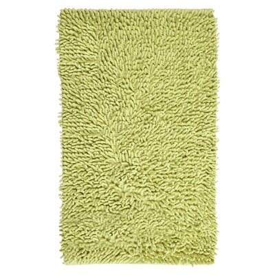 Rhalem Bath Rug Color: Lime