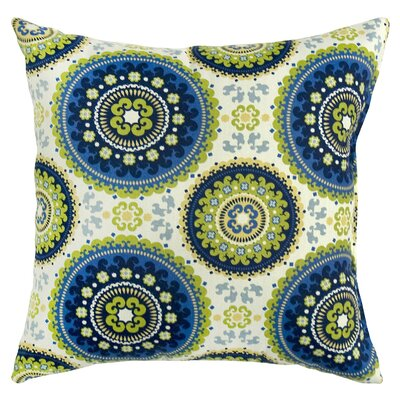 Alla Outdoor Throw Pillow Color: Summer