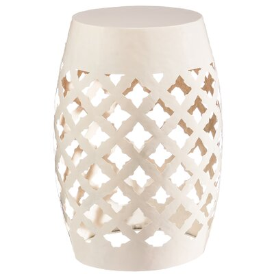 Balafrei 18 Bar Stool Finish: White