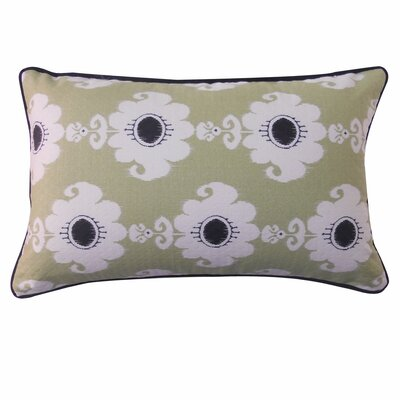 Bettache Outdoor Lumbar Pillow Color: Green