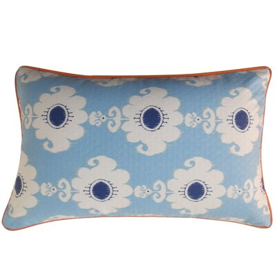 Bettache Outdoor Lumbar Pillow Color: Blue