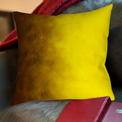Ashford Printed Throw Pillow Size: 20 H x 20 W x 5 D, Color: Gold