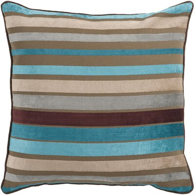 Radad Sparkling Stripe Throw Pillow Size: 18