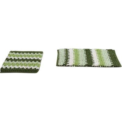 Jasmine Jasmine Chenille Bath Rug Color: Green, Size: 30 W x 20 L