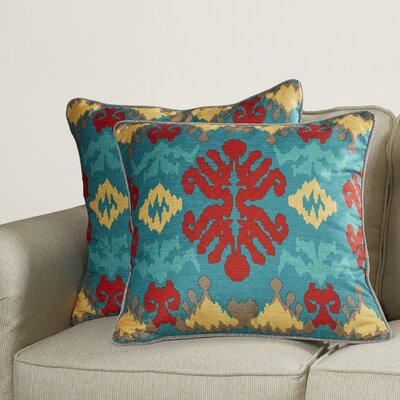 Kaplice Throw Pillow Size: 22