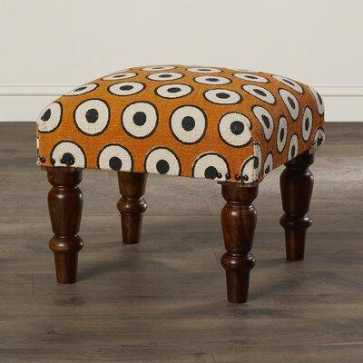 Samina Cotton Upholstered Ottoman