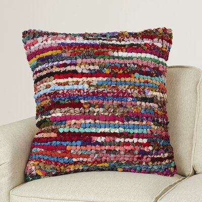 Bungalow Rose Southern Cotton Throw Pillow
