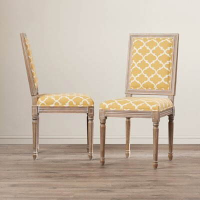 Artemesia Parson Chair Color: Yellow