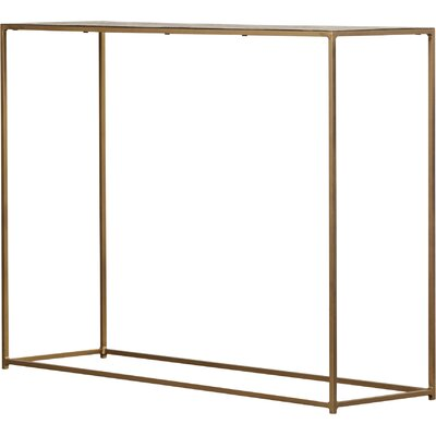 Espenson Moroccan Flower Console Table
